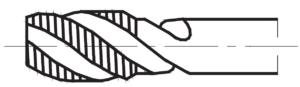 Gwintownik maszynowy skrętny śrubowy