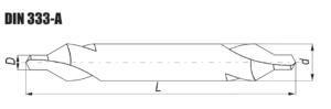 Nawiertak zwykły DIN 333-A NWRc