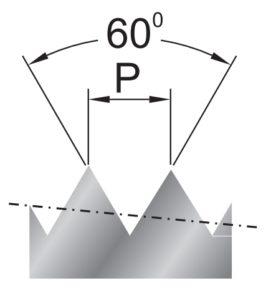 Rysunek przedstawia zarys narzynki NPT