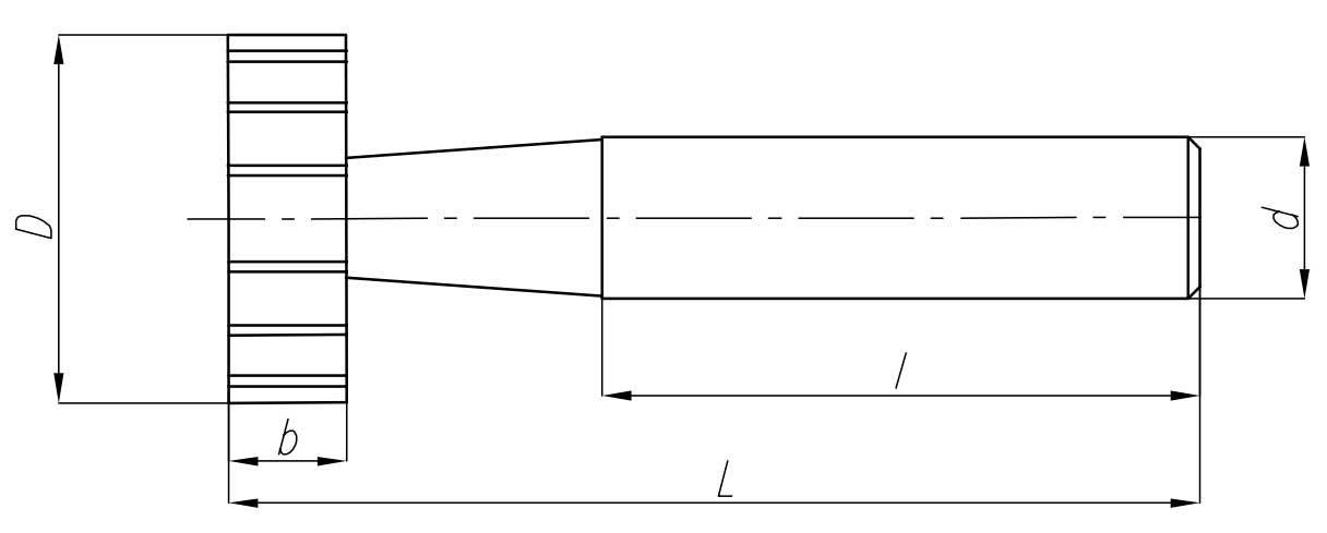 frezy do rowków woodruffa wymiary
