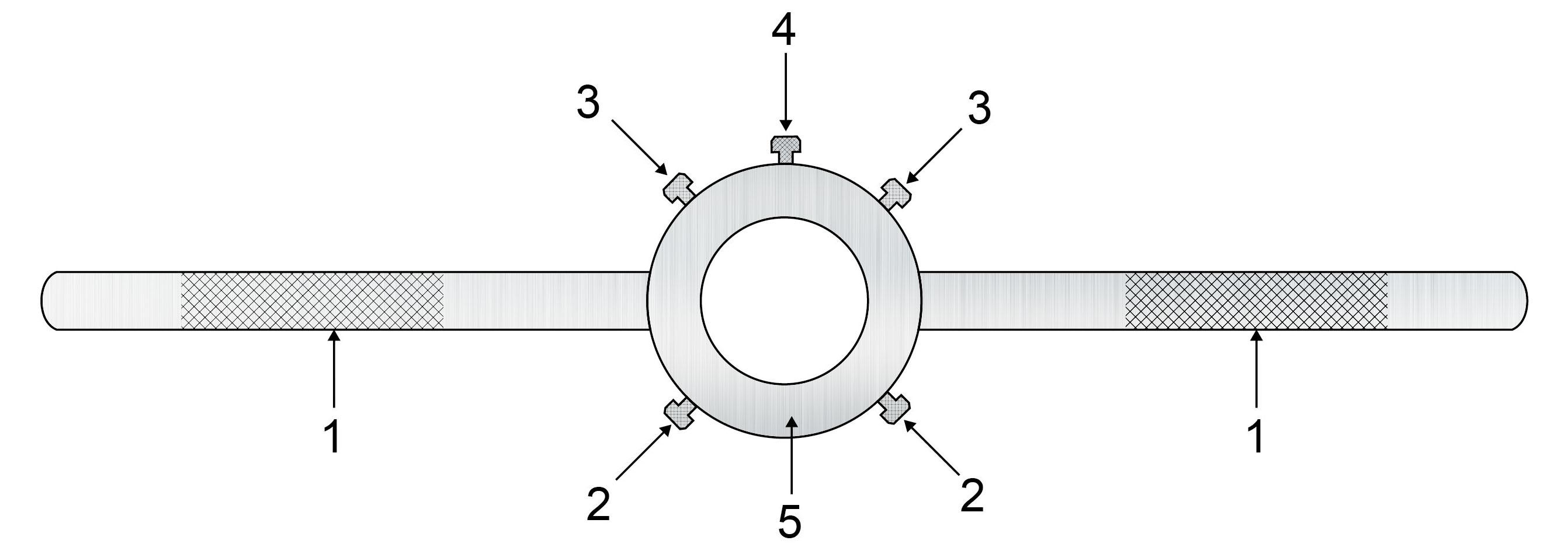 Schemat budowy oprawki do narzynek.