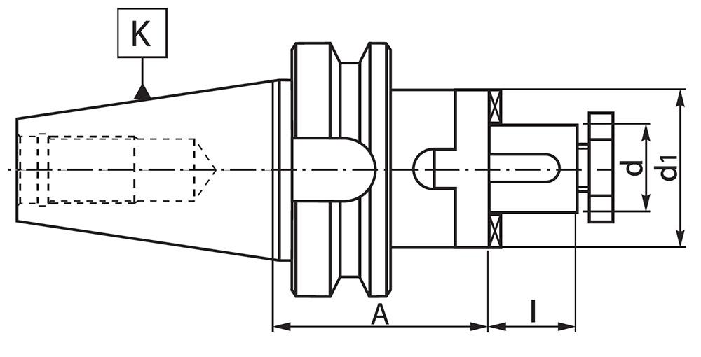 Trzpień 7361 MAS-403-BT