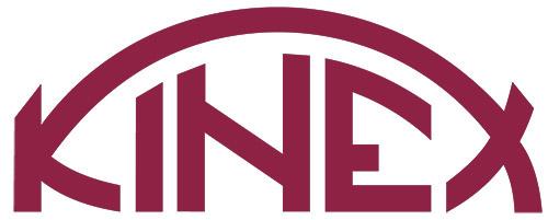 Logo firmy pomiarowej Kinex