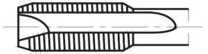 Gwintownik maszynowy przelotowy