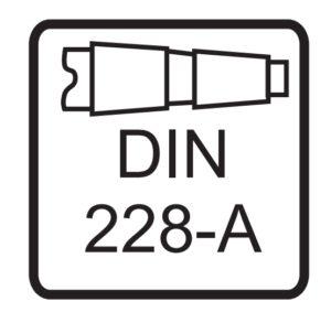 Oznaczenie chwytu DIN 228