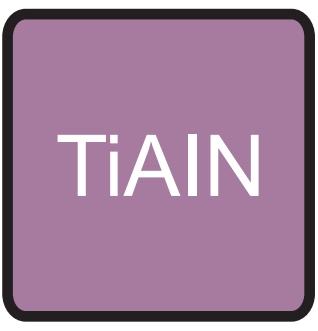 Frezy Fanar z powłoką TiAIN