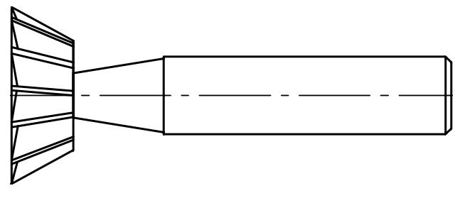 Frez NFRf DIN-1833 wewnętrzny