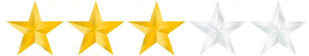 trzy gwiazdki