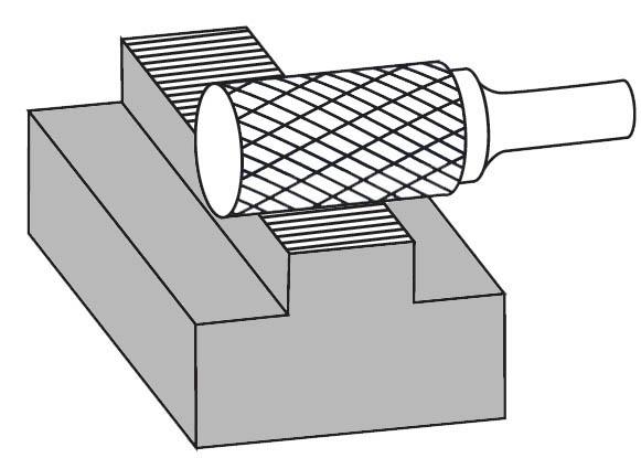 Pilnik rotacyjny walcowy A zastosowanie