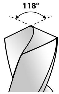 wiertło do stali nierdzewnej kąt 118 stopni