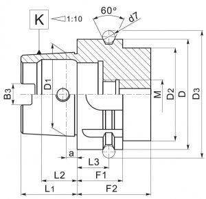 DIN 69893-HSK