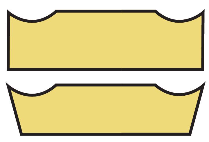 Kształt powierzchni natarcia R