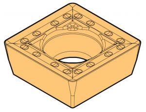 Zdjęcie płytki SPMT do wierteł składanych