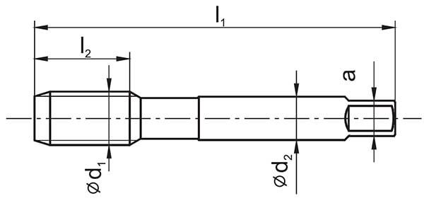 Rysunek gwintownika maszynowego G