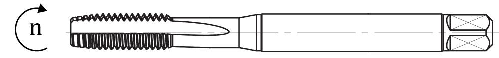 Rysunek obroty gwintownika