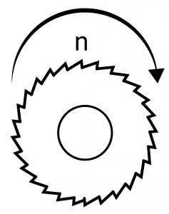 Obroty n frezów [obr/min]