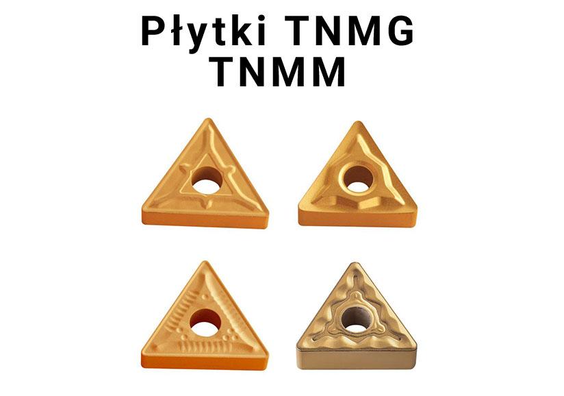 Płytki tokarskie TNMG, TNMM