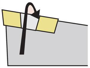 Mocowanie S płytki noża tokarskiego składanego